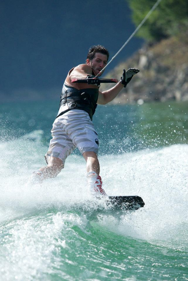 Ciprian Trifan - wild wakeboard rider