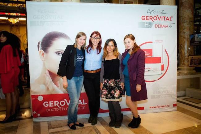 lansare gerovital h3 derma+