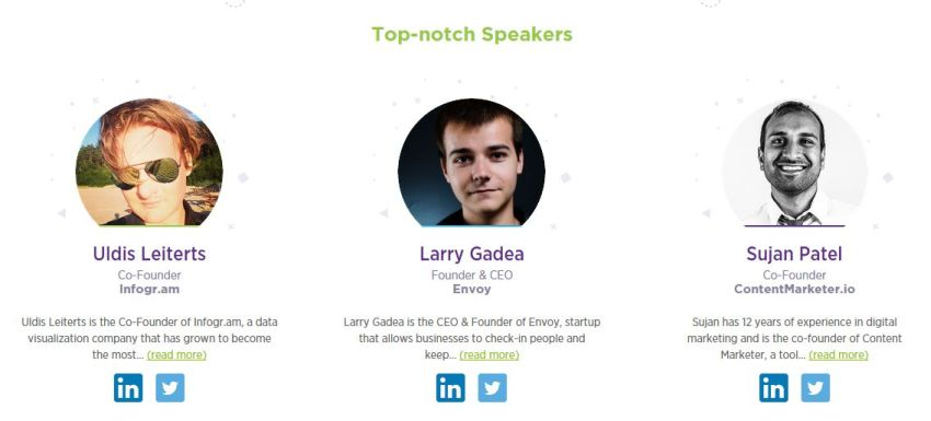 how to web conference speakers 2015