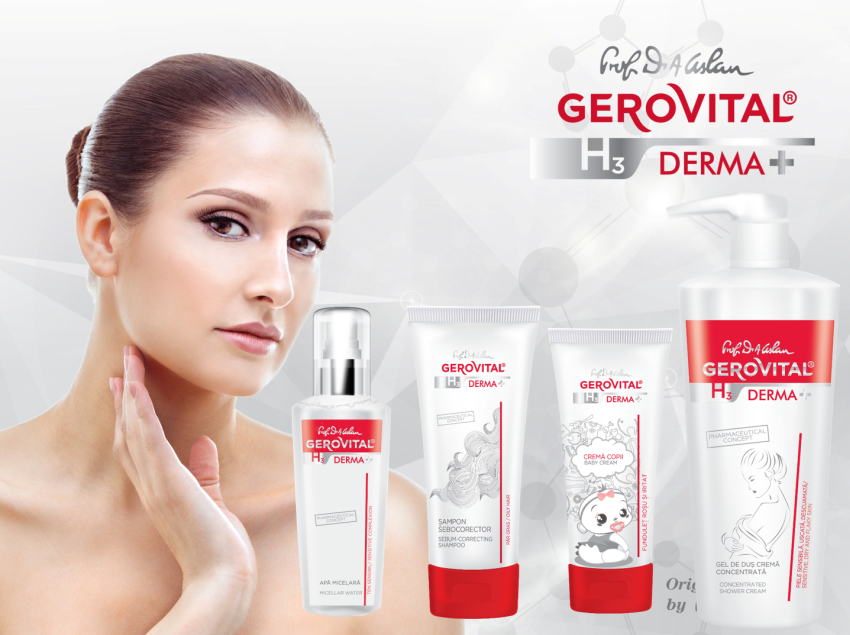 gerovital h3 derma plus gama
